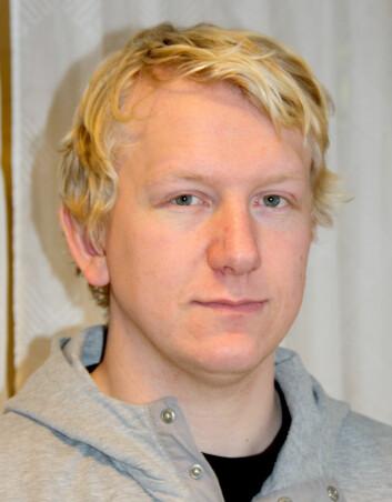 Stipendiat Joakim Caspersen. (Foto: Kjersti Lassen)