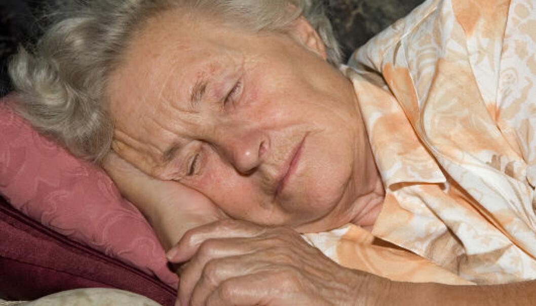 Eldre trenger mindre søvn