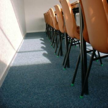 Tepper demper kanskje støy og kan ha pedagogiske fordeler, men de veier ikke opp for den helsemessige risikoen, mener myndighetene. (Foto: iStockphoto)