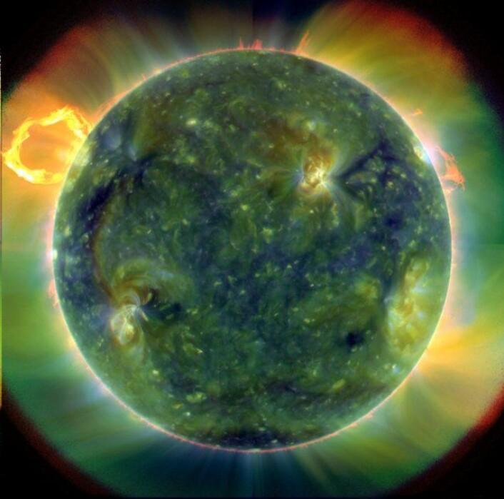 (Foto: SDO/NASA)