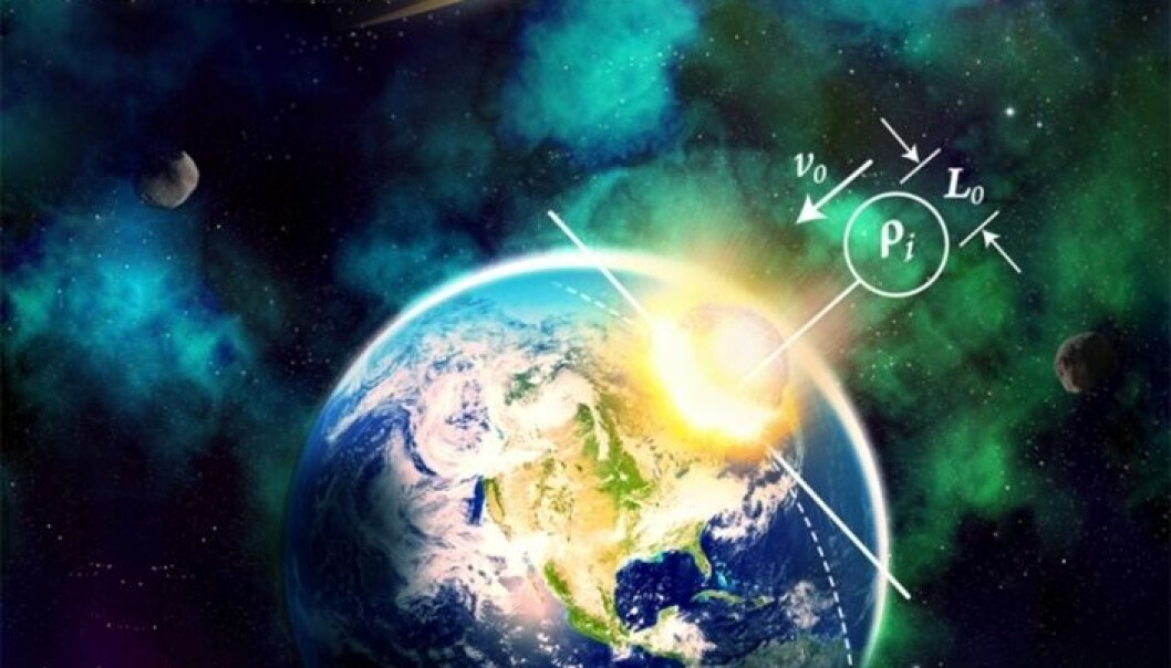 Lek gud med asteroidesimulator