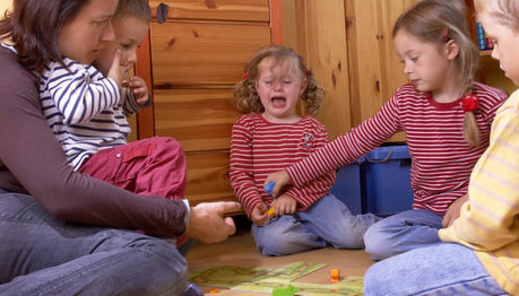 - Uten barnehagen hadde jeg blitt gal!
