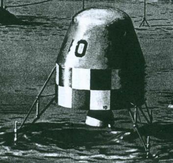 Månefartøyet til enveis-astronauten, slik den ble foreslått i 1962 (Illustrasjon: NASA)