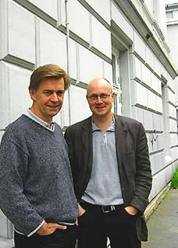 """""""Ole Johnny Olsen og Jan Heiret jobber med arbeidslivshistorie."""""""