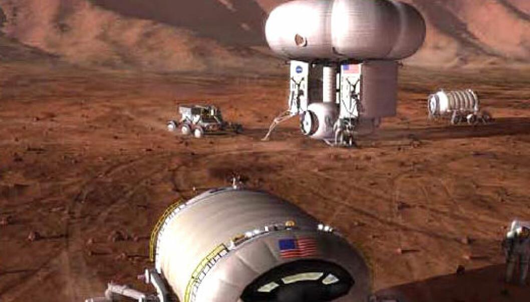 Leve og dø på Mars