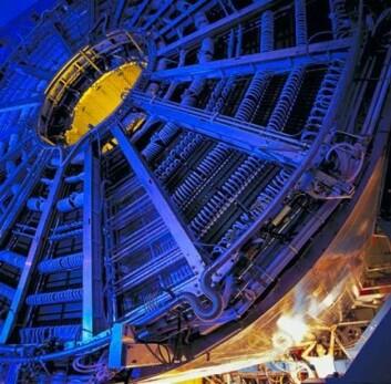 Her inne i ALICE vil det bli en temperatur 100 000 ganger varmere enn i Solens indre.