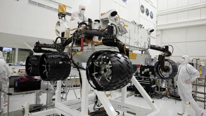 Curiosity er snart klar for ferden til Mars. (Foto: NASA)