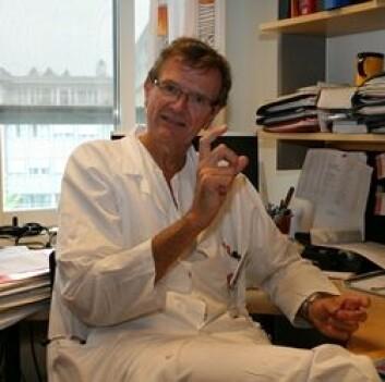 Betennelse er et nøkkelord når det gjelder hjertesvikt, mener Lars Gullestad. Foto: Elin Fugelsnes