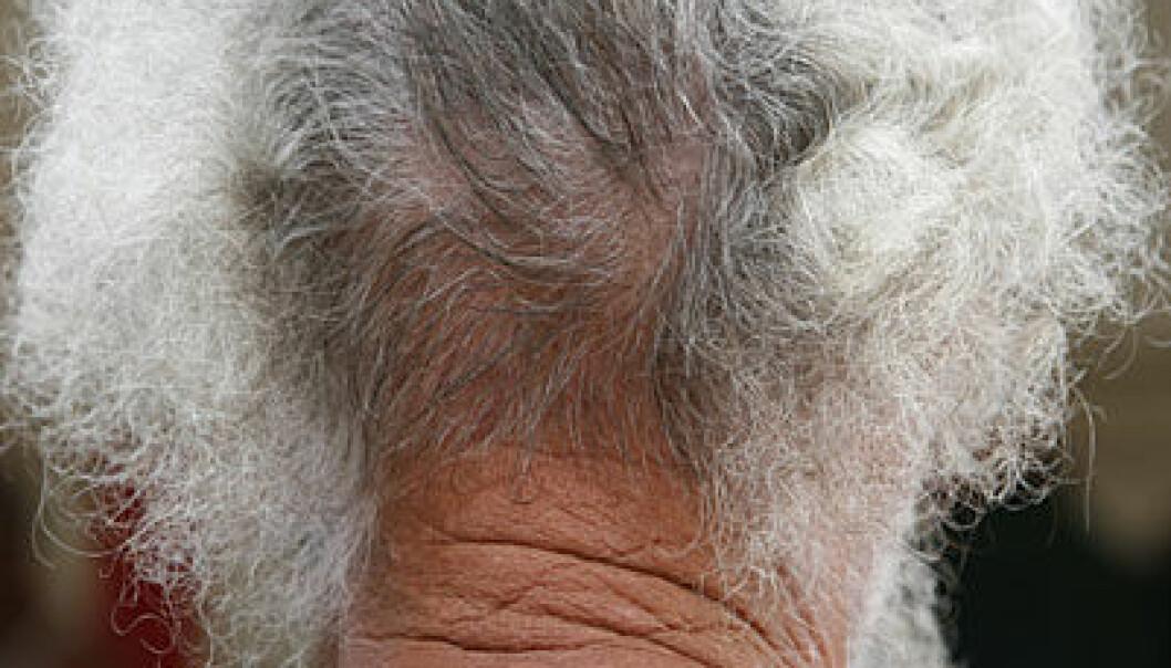 Tause celler gir grått hår