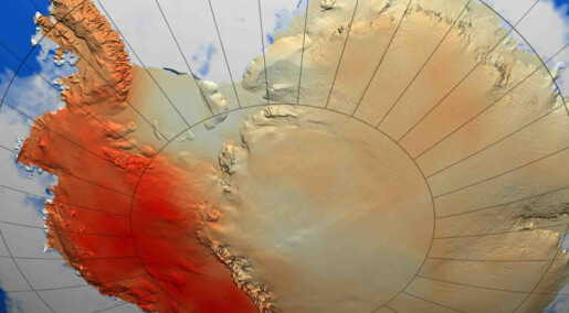 Antarktis varmere enn antatt