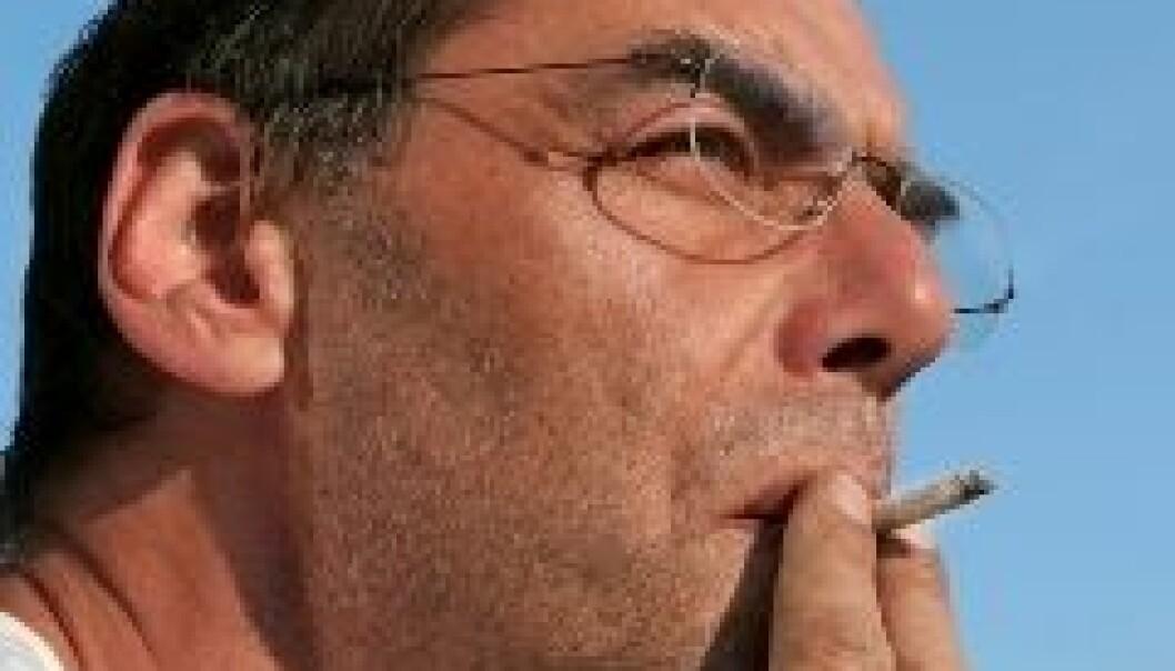 Halvparten av hardcore-røykerne vil dø av røykingen sin, ifølge Karl Erik Lund ved SIRUS.