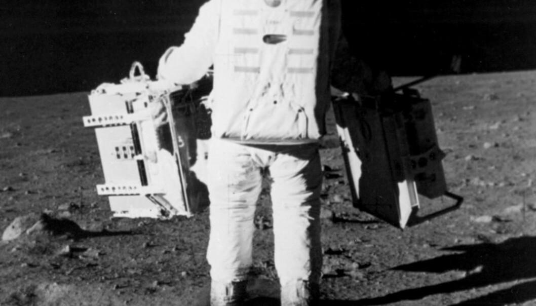 Apollo-astronautene forsket på månen