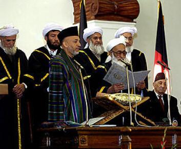 """President Hamid Karzai. (Foto: US Department of defense.)"""