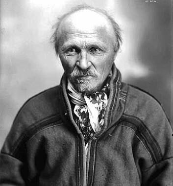 Forfatteren Johan Turi. (Foto: Kiruna Municipality picture archive)