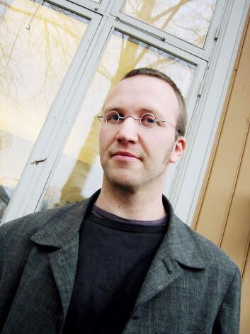 """Teolog Marius G. Mjaaland. Foto: Andreas R. Graven"""