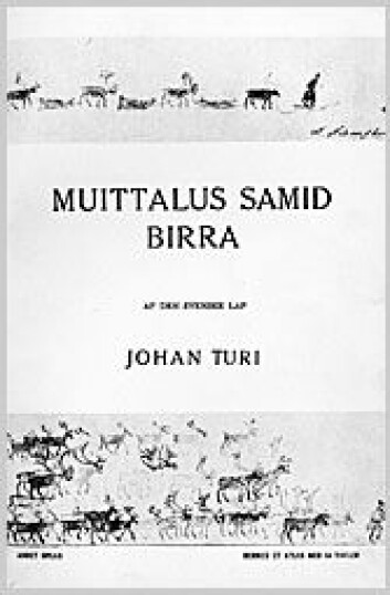 Muitalus sámiid birra, av Johan Turi.