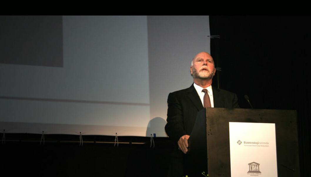Craig Venter. (Foto: Ingrid Spilde)