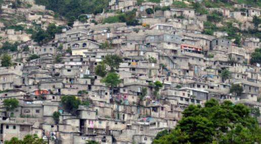 - Katastrofen skyldes fattigdom