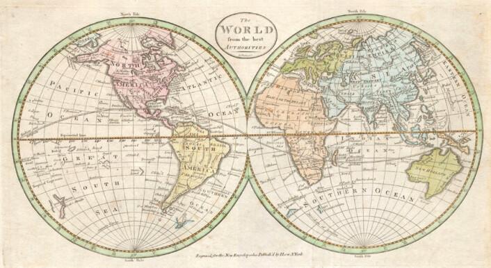 På 1800-tallet var det en utbredt oppfatning blant tilhengere av Platons myte at Atlantis hadde ligget i midten av Atlanterhavet. (Foto: Public domain)
