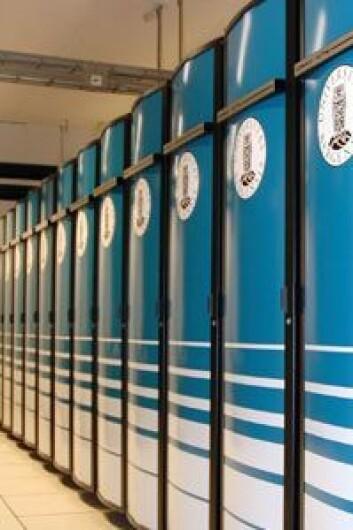 Denne skaprekken på Universitetet i Bergen huser en av verdens raskeste superdatamaskiner.  Foto: Jan Kåre Wilhelmsen, UiB
