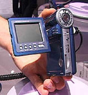 """""""Videokamera som tar opp direkte til harddisk."""""""