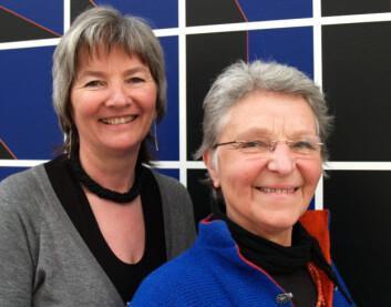 Ingrid Guldvik og Janneke van der Ros. (Foto: Kristin Engh Førde)
