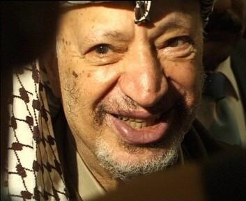 """Mange reagerte da Yasser Arafat var en av fredsprisvinnerne i 1994. (Foto: Hans Jørn Storgaard Andersen, Wikimedia Commons)"""