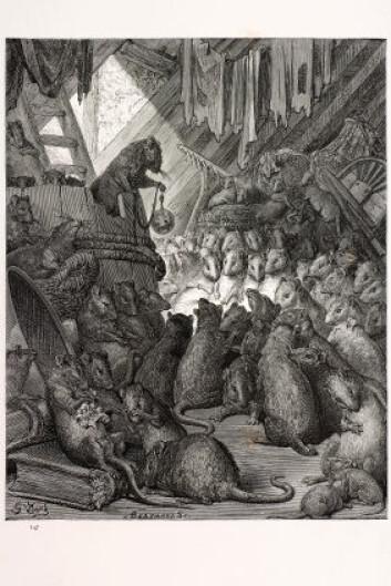 Her holder rottene råd, slik Paul Gustave Doré (1832-1883) forestilte seg det i 1870. (Foto: iStockphoto)