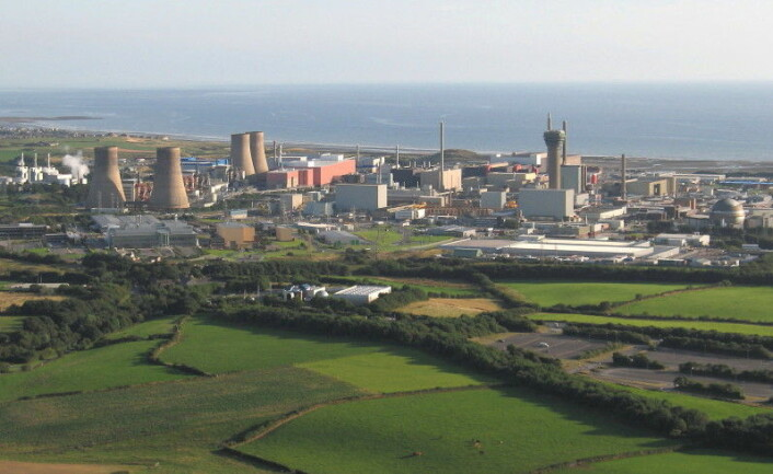 Sellafield-anlegget (Foto: Simon Ledingham)