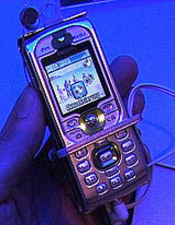 """Ikke bare en mobiltelefon ..."""