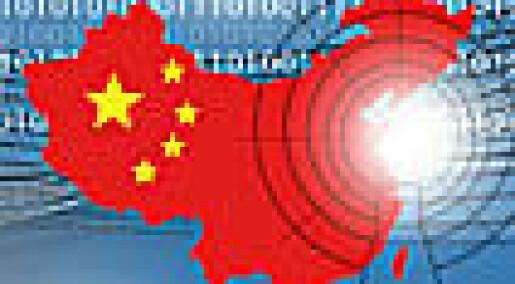 Sosiale medier letter trykket i Kina