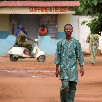 """""""Finanskrisa vil slå ut i redusert vekst i de fattigste landene i 2009, spår Det internasjonale pengefondet (IMF). Afrika sør for Sahara vil rammes verst. Bilde fra Benin. (Foto: iStockphoto)"""