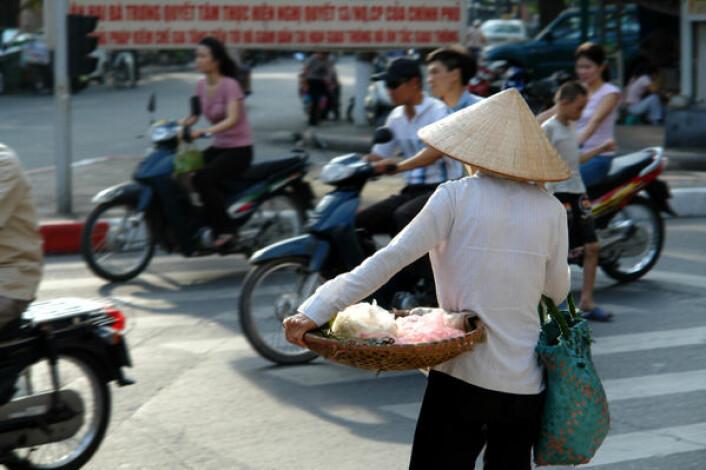 Livstilssykdommer er nå den største trusselen mot folkehelsa, også i mange fattige land. Bilde fra Hanoi, Vietnam. (Foto: iStockphoto)