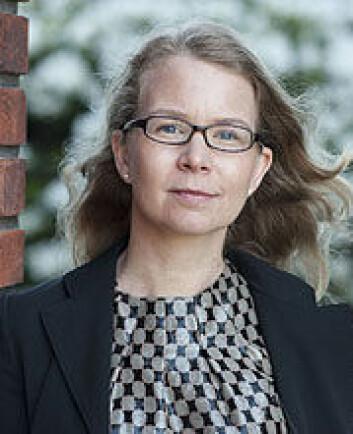 Doktorand Vibeke Kieding Banik, ved Institutt for arkeologi, konservering og historie, UiO. (Foto: Annica Thomsson)