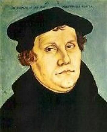 """- Josva sa til Solen at den skulle stoppe i sin bane, ikke til Jorden! Det var Luthers mening, så han kalte Kopernikus for en tosk."""