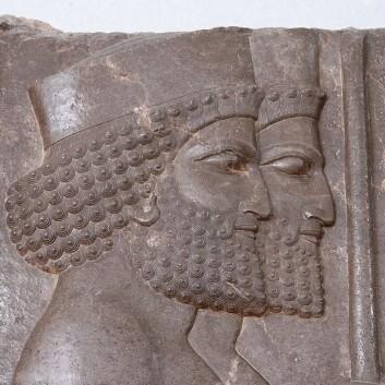 Soldater i Perspepolis, hovedstaden i det persiske riket (Foto: Keyvan Mahmudi/Wikimedia Commons)