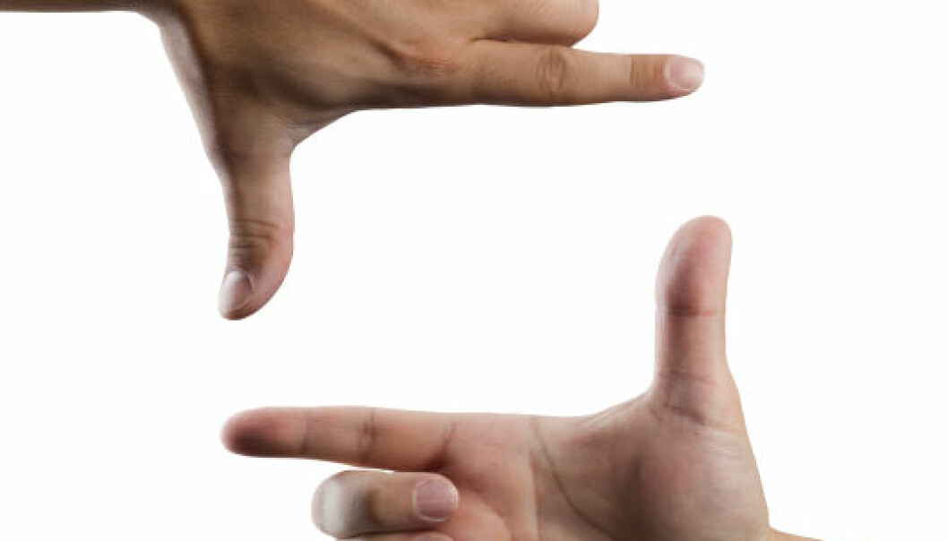 Brede hender og korte fingre