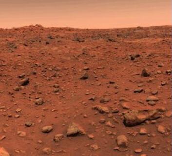 """""""Rød sand på Mars."""""""