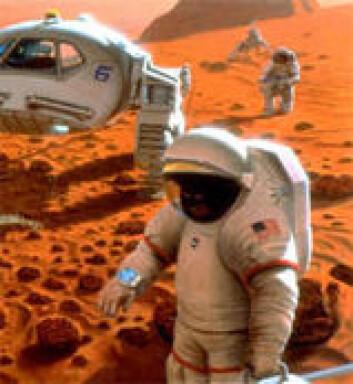 """""""Når vil de første menneskene sette føttene sine på Mars?"""""""