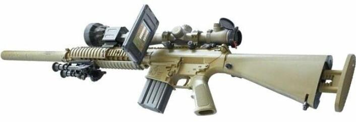 Rifle påmontert Ipod. (Foto: www.snipercompany.com)