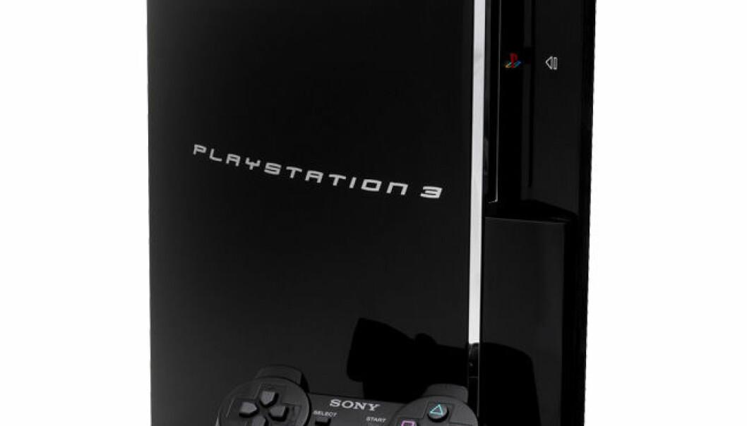 Slik ser PS3en ut i entall - bedre egna for underholdning enn radarforsterkning. (Foto: Evan-Amos)