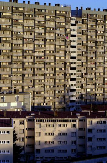 """""""Stoknes mener økt urbanisering fører til at vi etter hvert vil få færre barn. (Illustrasjonsfoto: www.colourbox.no)"""""""