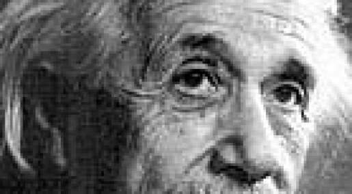 Einstein satte Bohr til hardt nattarbeid