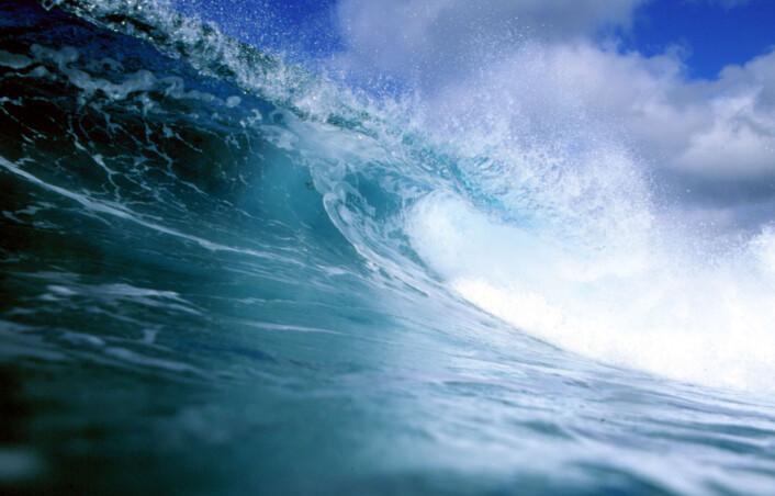 """""""Studien til Knorr antyder at jo mer karbondioksid vi slipper ut, jo mer greier havet og resten av jorda å ta opp. (Foto: www.colourbox.no)"""""""