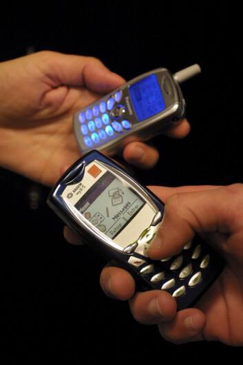 Oppfølging på SMS gir ruspasienter muligheten til å kontakte behandlere når behovet melder seg. (Illustrasjonsfoto: www.colourbox.no)