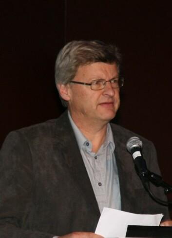 Egil Kallerud fra NIFU STEP (Foto: Ingvil Bjørnæs)