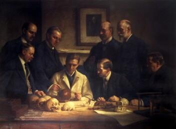 """""""Betydningsfulle menn satset sin prestisje på et forfalsket fossil."""""""