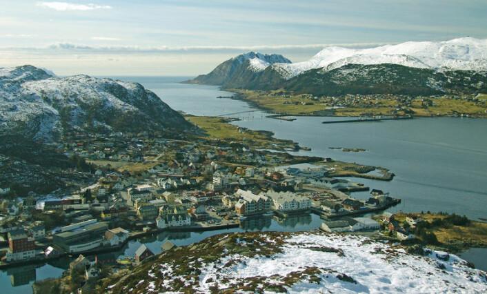 Herøy kommune, Fosnavåg. (Foto: Wikimedia Commons)