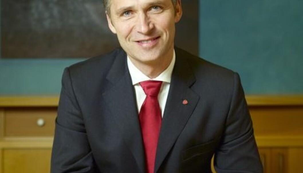 Jens Stoltenberg. (Foto: Foto: Guri Dahl/SMK)