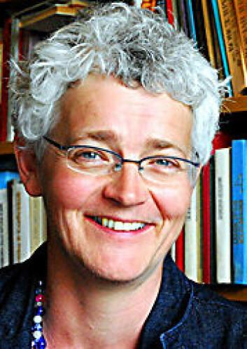 """Karen Gammelgaard leder prosjektete """"Konstituerende tekster"""" ved UiO."""